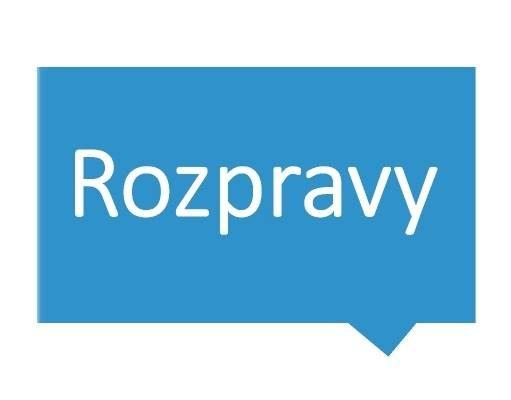 FOTO: Rozpravy o českých médiích – logo