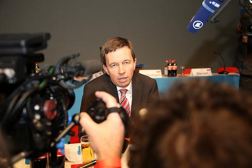 Bernd Lucke, zakládající člen populistického hnutí Alternativa pro Německo