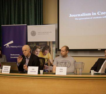 FOTO: Rozpravy: česká žurnalistika ze zahraniční perspektivy