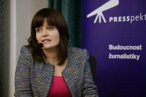 FOTO: Rozpravy již tradičně moderovala Alice Němcová Tejkalová, ředitelka IKSŽ