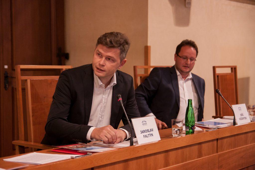 FOTO: Jaroslav Faltýnek v Senátu PČR