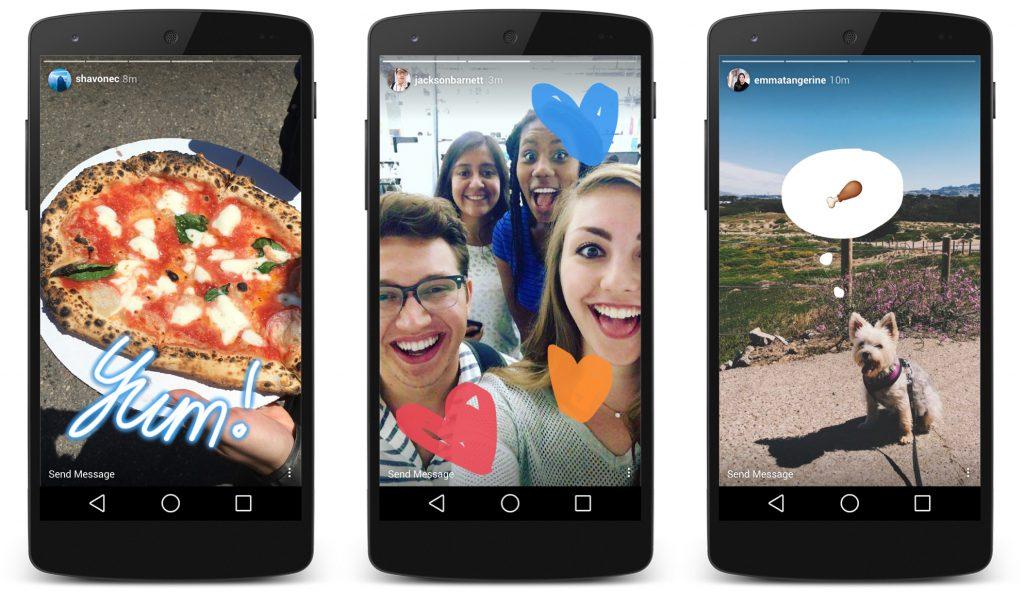 Instagram storiesdává uživatelům možnost sdílet více informací ze svého soukromí