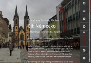 Cíl Německo: Multimediální projekt ČRo