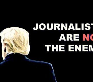 FOTO: Novináři nejsou nepřáteli.