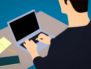 Bloggeři (ilustrační grafika)
