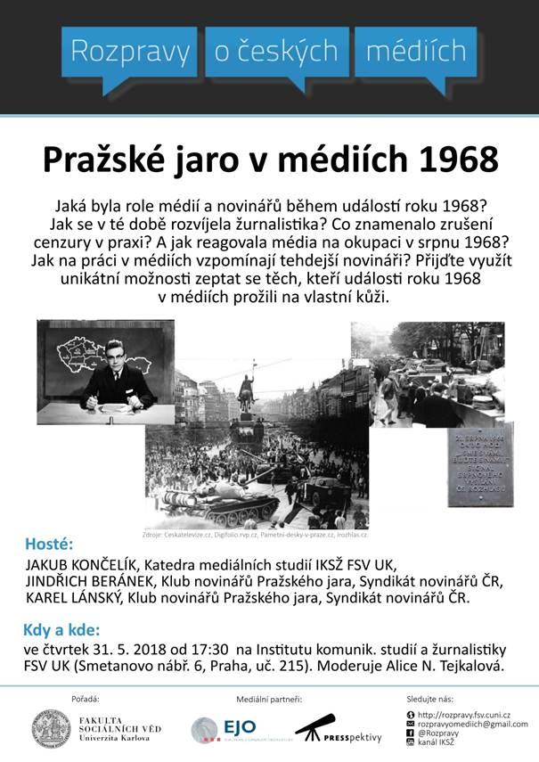 Rozpravy o Pražském jaru v médiích 1968