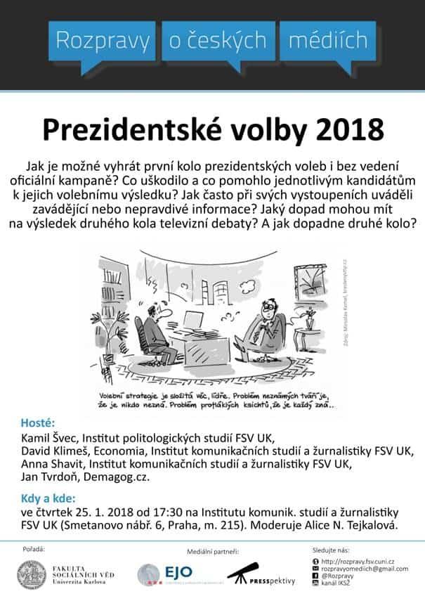 Rozpravy: prezidentské volby