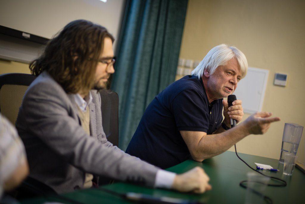 Jan Jirák během Rozprav o mazání internetového obsahu.