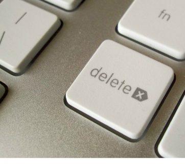 FOTO: Delete key