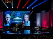 FOTO: prezidentská debata