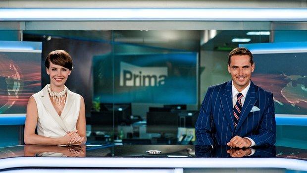 Roman Šebrle a Gabriela Kratochvílová v rolích nových moderátorů na Primě.