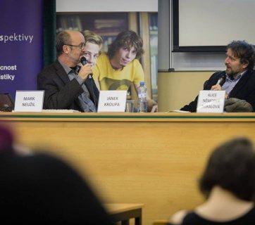 Rozpravy o českých médiích: Mark Neužil a Janek Kroupa