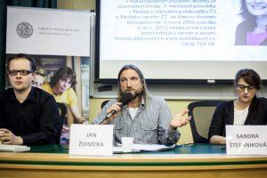 FOTO: Rozpravy o českých médiích na téma Vizualizace médií.