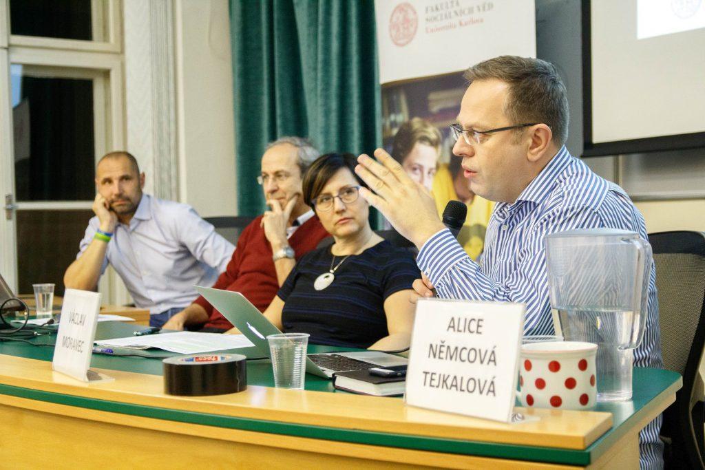 FOTO: Rozpravy o českých médiích