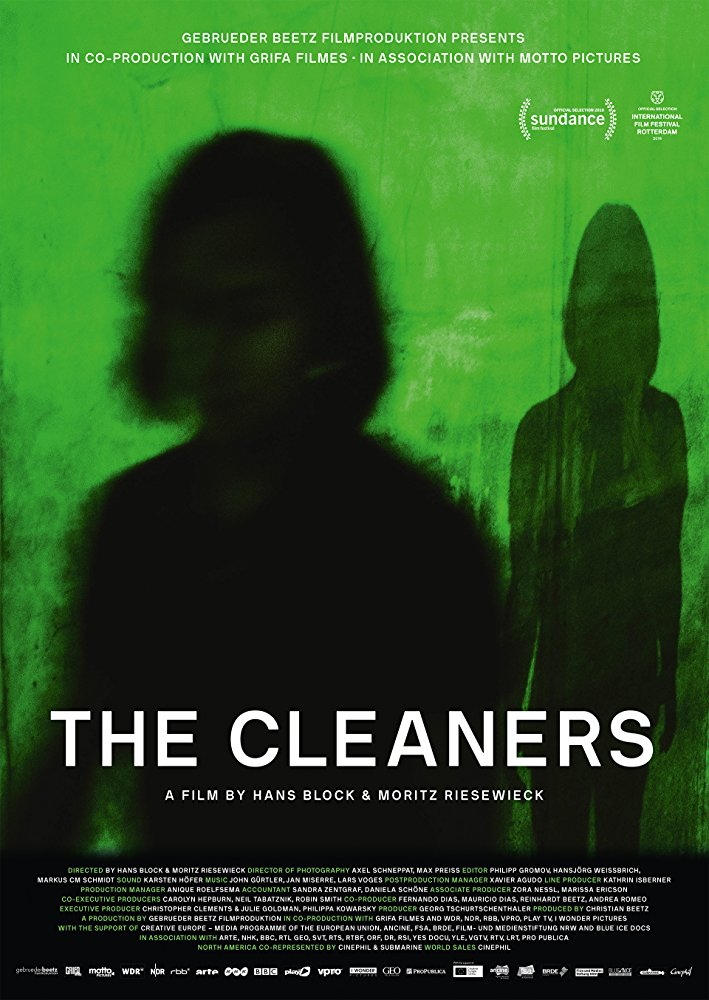 Filmový plakát: © The Cleaners (2018)