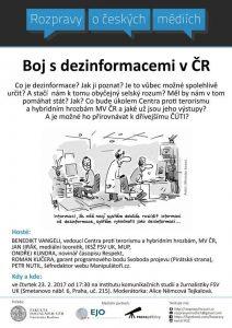 GRAFIKA: Rozpravy o boji s dezinformacemi v ČR